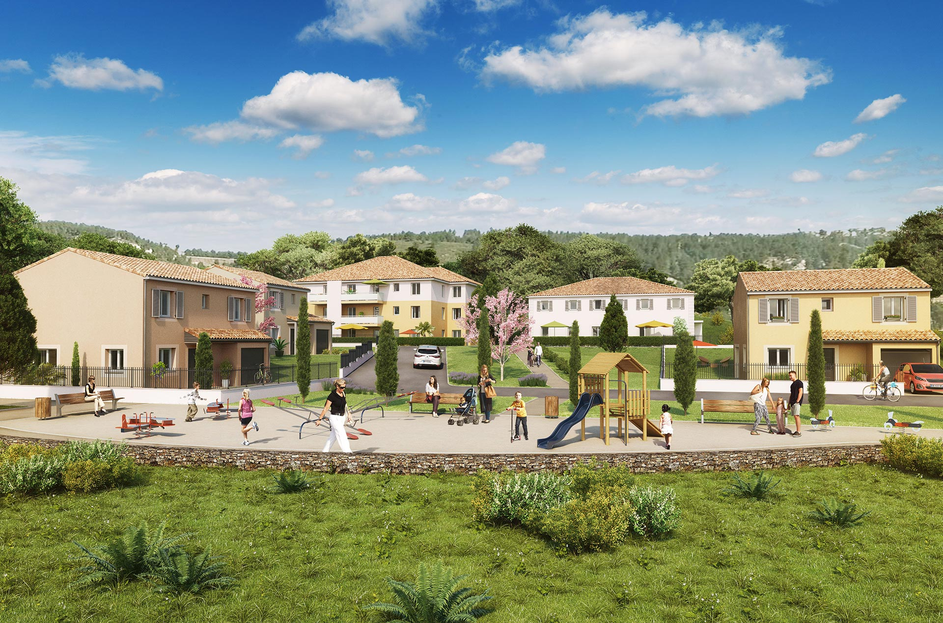 Programme immobilier neuf ensu s la redonne 13820 for Annonces immobilier neuf