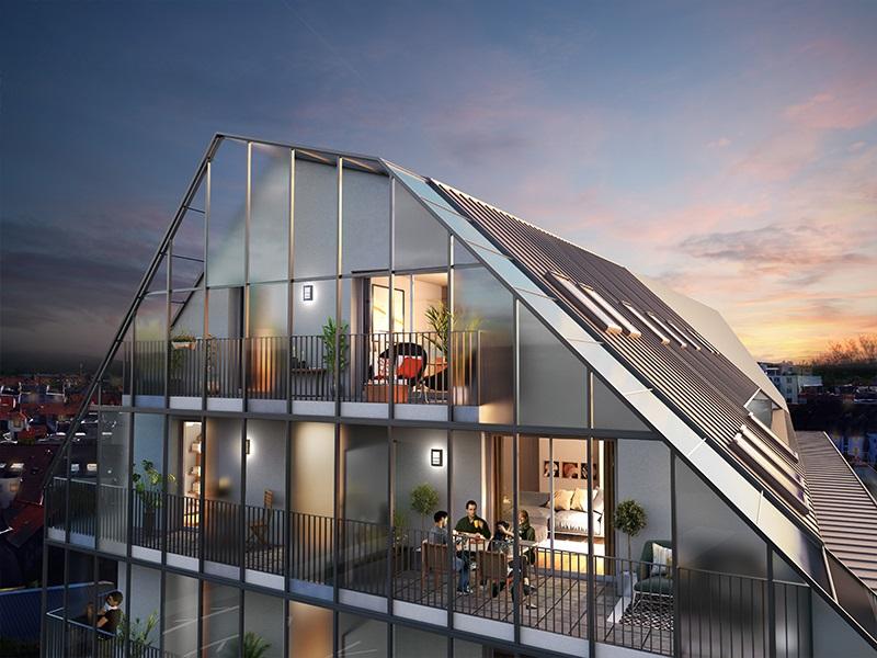 Immobilier neuf bas rhin strasbourg 67000 pixelium mon logement - Centre commercial rivetoile strasbourg ...